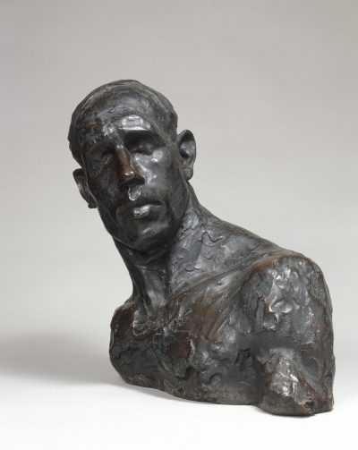 荻原守衛《坑夫》1907年(彫刻
